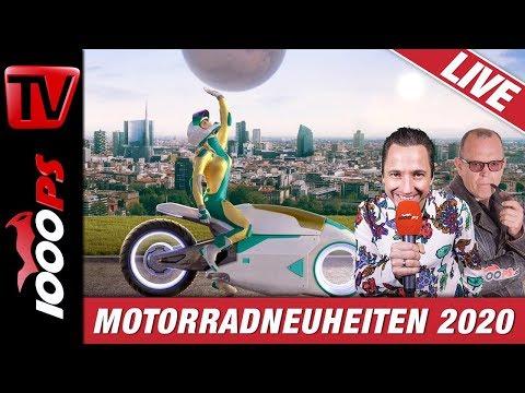1000PS Live - Die Highlights von der EICMA - Motorradneuheiten 2020