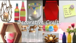 Easy Decorative Craft Ideas
