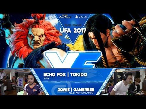 SFV: FOX Tokido vs ZOWIE Gamerbee - UFA 2017 Top 8 - CPT 2017