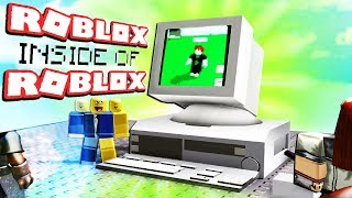 Roblox, but its inside of ROBLOX?!