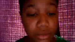 """Me Singing """"Words"""" by Anthony David ft. India Arie 1st time around"""
