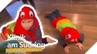 Leo (6) will eine Raupe sein! Wieso zieht er sein Kostüm nicht mehr aus | Die Familienhelfer | SAT.1
