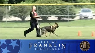 Regional K9 Trials In Franklin