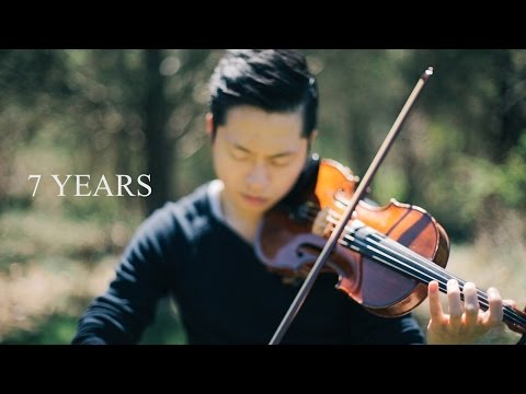 7 Years - Lukas Graham - Violin Cover by Daniel Jang