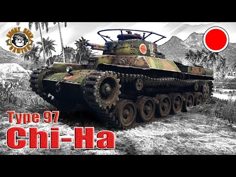 "War Thunder: Type 97 ""Chi-Ha"", Japanese, Tier-1, Medium Tank"