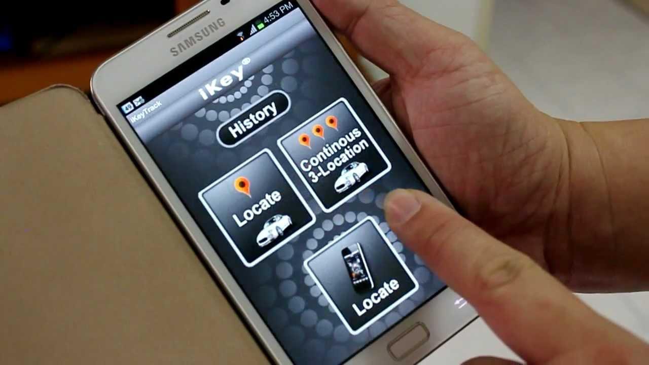Gps Car Tracker >> iKey SM200 Smartphone GPS Vehicle Tracker- Basic Installation - YouTube