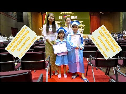 My Children School Event at CKCC Phnom Penh | Graduation & Conferring Ceremony Golden Bridge ISPP