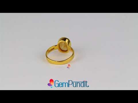 Buy Yellow Sapphire Rings Online - Pukhraj Rings for Sale