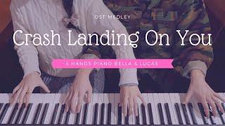 🎵Crash Landing On You(사랑의 불시착) OST Medley   4hands piano