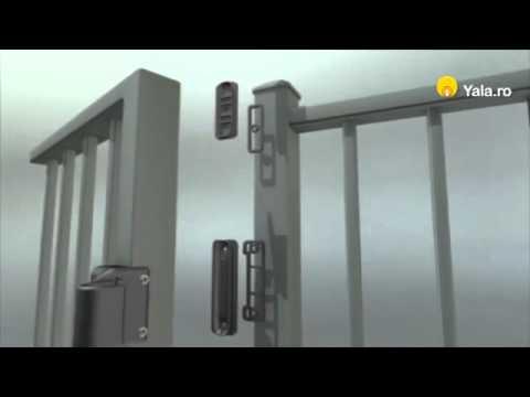 Incuietoare Poarta Magnalatch Top Pull 2 Youtube