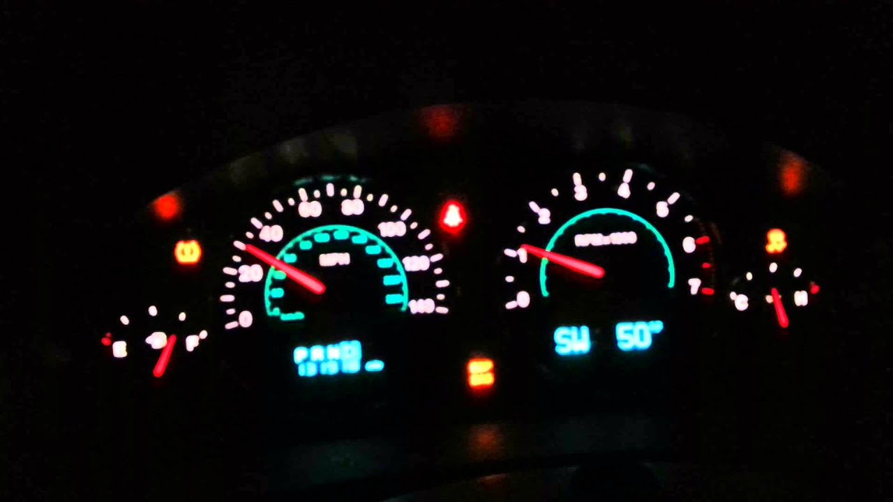 Dee S 2007 Jeep Commander Flashing Dash Lights
