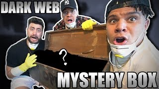 Buying a Real Dark Web Mystery Box GOES VERY WRONG!! *SCARY WARNING*