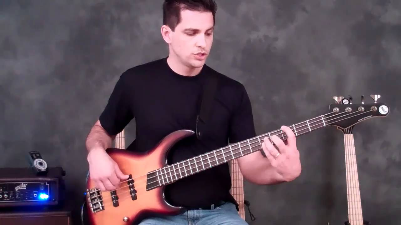 how to use arpeggios on bass