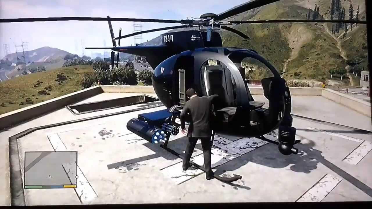 Elicottero Gta 5 : Gta come trovare il buzzard elicottero d attacco