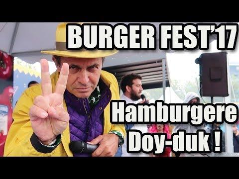 Zorlu Hellmann's BurgerFest'te Hamburgere Doyduk!