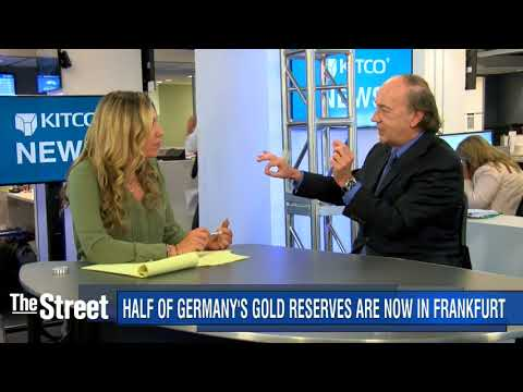 Germany wants its gold back and Mnuchin's visit to Fort Knox, weird things are happening.