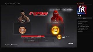 WWE 2K17 1v1online (Gameplay) EPIC MATCH