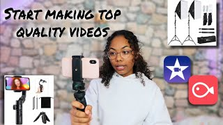 HOW TO FILM AND EDIT LIKE A PRO || USING YOUR PHONE!!