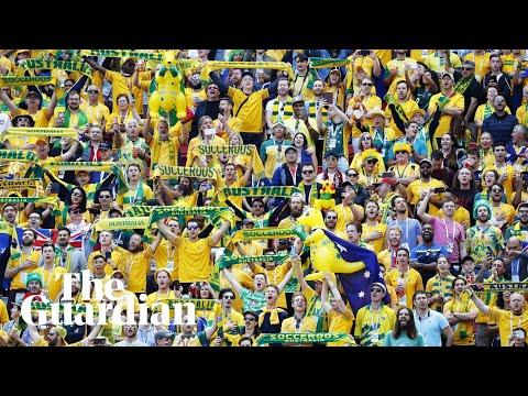 Australia fans proud despite France defeat as VAR comes into play