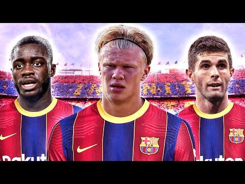 How To Rebuild Barcelona XI!