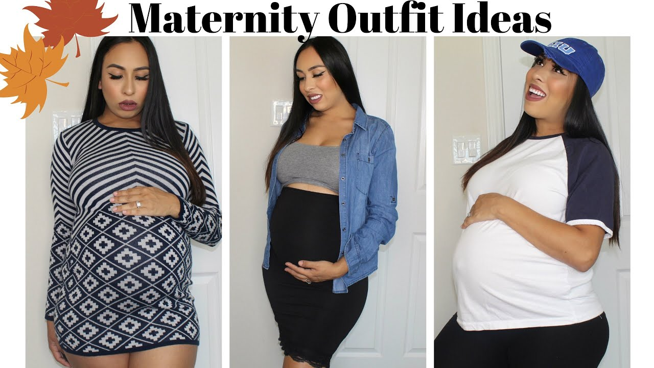 [VIDEO] - Fall Maternity Outfit Ideas 2019 1