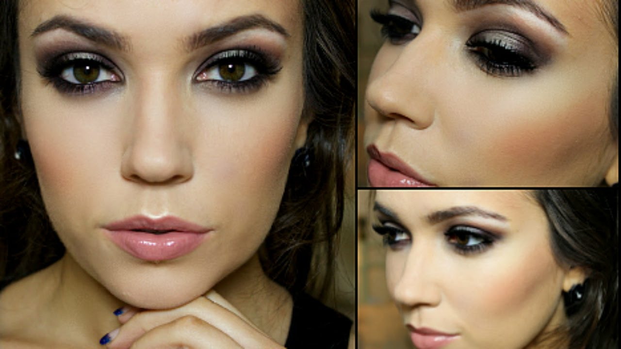 Evening Wedding Makeup Looks : Glamorous Evening Makeup Tutorial Giveaway - YouTube