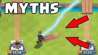 Top 10 Mythbusters in Clash Royale | Myths #4