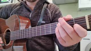 How to play I RIDE AN OLD PAINT by Johnny Cash / Colter Wall on Guitar