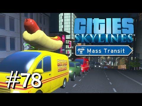 CITIES SKYLINES: Mass Transit #78: Mal die Nacht durchmachen [Let's Play][Gameplay][German][Deutsch]