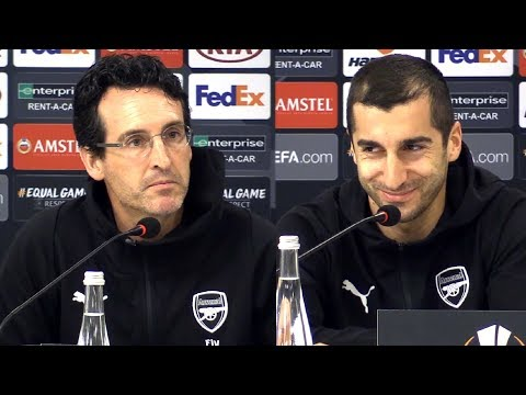 Unai Emery Full Pre-Match Press Conference - Vorskla Poltava v Arsenal - Europa League