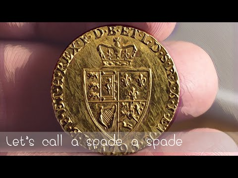 Let's call a spade a spade guinea! | Undated 20p | Canadian Sovereign