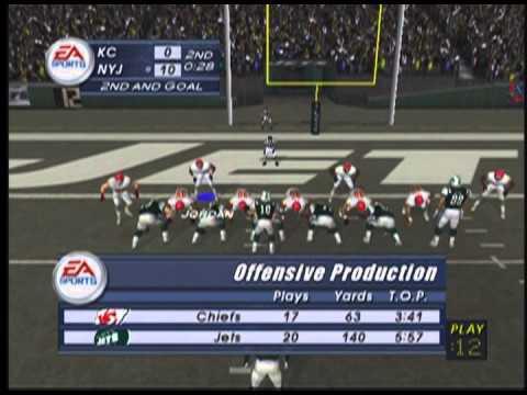 Madden 2003 Season Week 5 - Kansas City vs New York Jets