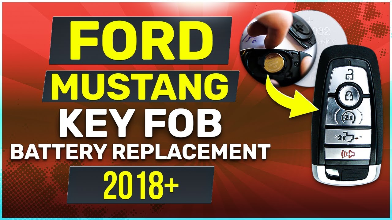 Ford Mustang Key Fob Battery Replacement Easy How To Guide