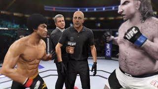 Bruce Lee vs. Mr. Elephant (EA Sports UFC 2)