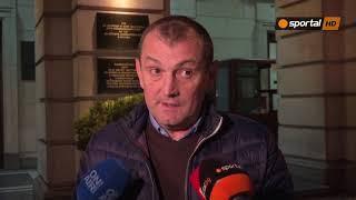 Загорчич: Надявам се на добър резултат в мача за Купата срещу Ботев