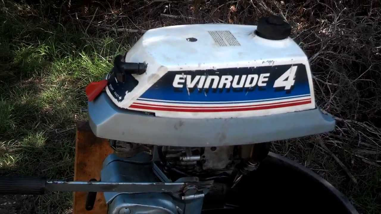 1980 E4wcss Evinrude 4hp After 2nd Service