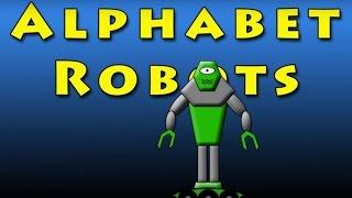 Gambar cover Vids4kids.tv - Alphabet Robots