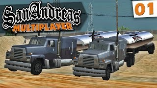GTA Multiplayer - Primeiro Emprego