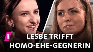 Lesbe trifft Homo-Ehe-Gegnerin | 1LIVE Ausgepackt - Folge 1: Homosexualität