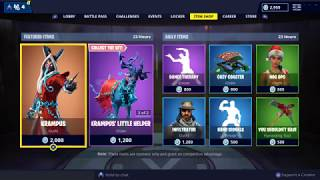 NEW EVIL KRAMPUS SKIN: Fortnite Item Shop