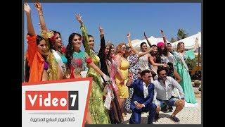 شاهد ملكات جمال العالم بأفضل 10 مايوهات فى مرسى علم
