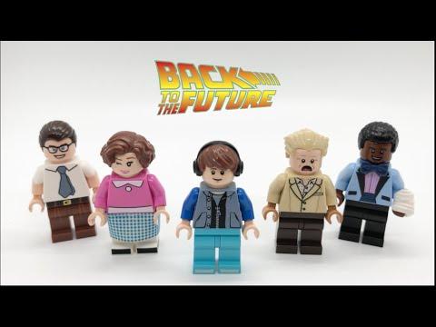 LEGO Back To The Future Custom Minifigures!