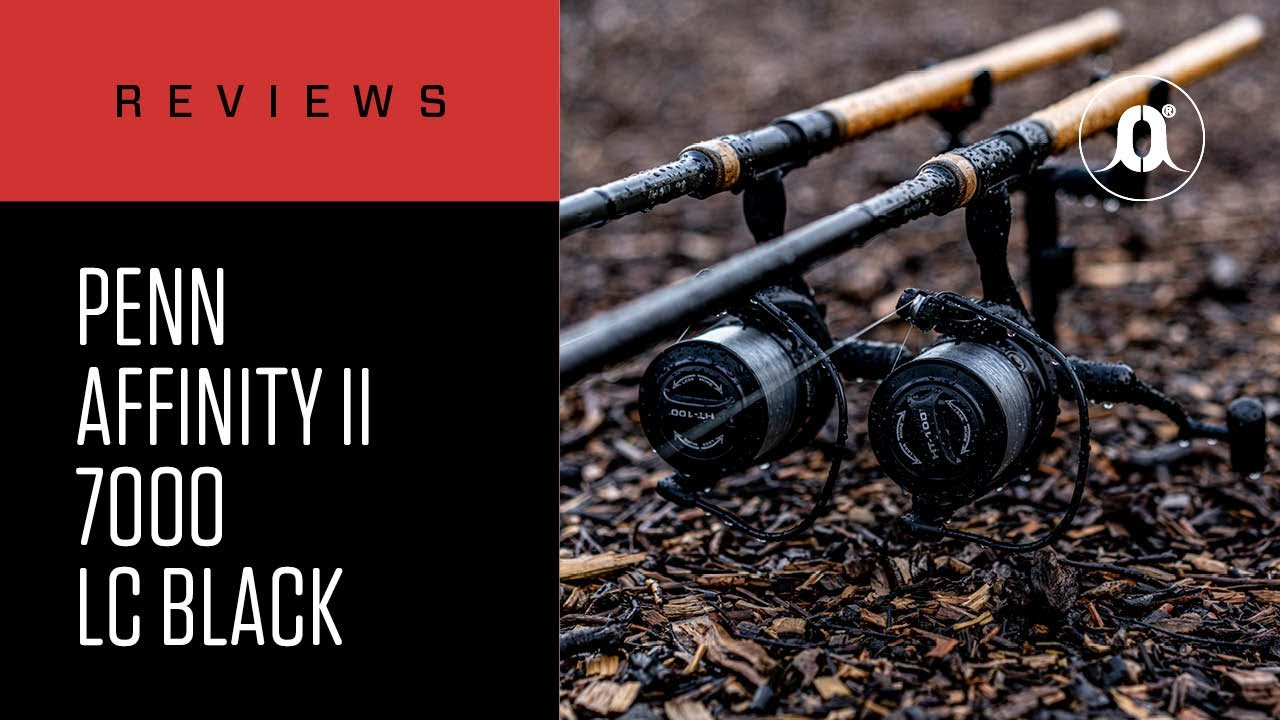 PENN NEW//2017 SPINNING REELS AFFINITY II BLACK