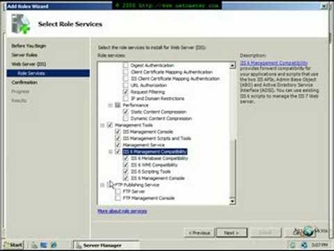 How To Install MediaWiki On IIS7 In Windows Server 2008 (x32