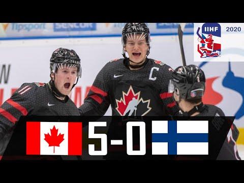 Canada vs Finland   2020 WJC Highlights   Jan. 4, 2020