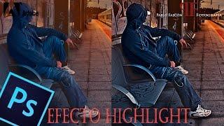 Video Tutorial Photoshop: Efecto Highlight. download MP3, 3GP, MP4, WEBM, AVI, FLV Agustus 2018