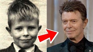 David Bowie from 1 to 69 years old