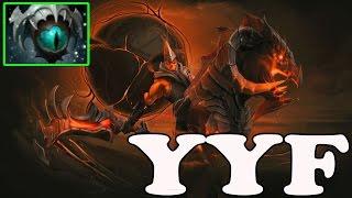 dota 2 yyf 6611 mmr plays chaos knight vol 2 ranked match gameplay