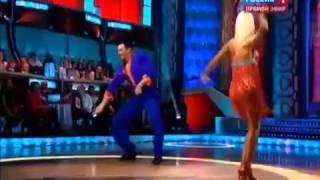 Шоу Танцы со звездами  Стас Костюшкин и Анна Гудыно  26 10 2013
