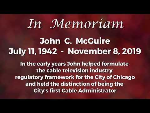In Memoriam - John McGuire